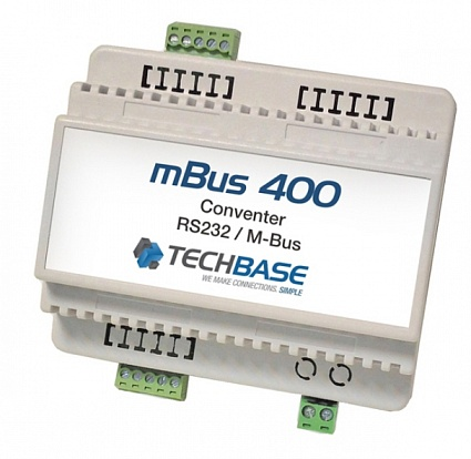 Конвертер TechBase M-Bus 400